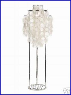 Lampadaire design Verpan Verner Panton nacre Fun 1stm