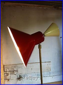 Lampadaire diabolo Vintage lampe 1950 50's arteluce Lelli guariche biny design