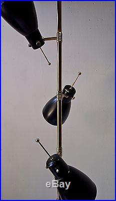Lampadaire lampe 1950 monix floor lamp light mid century 50's vintage french