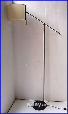 Lampadaire maison lunel 1950 mid century floor lamp 50