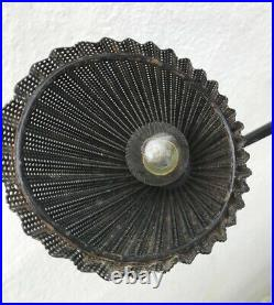 Lampe 1950s mathieu mategot france lamp mid century light original 50 metal noir