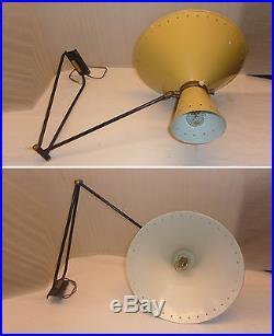 Lampe Applique Potence Diabolo René Mathieu Lunel Guariche Design 1950 Loft