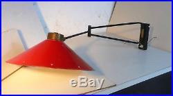 Lampe Applique Rene Mathieu Guariche 1950-1960 Lamp