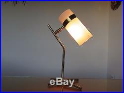 Lampe Boris Lacroix Laiton Et Perspex Annees 60