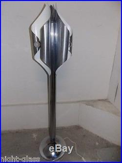 Lampe Design Années 70 Designer Sciolari Metal/vintage Lamp 70's Metal/n°b94
