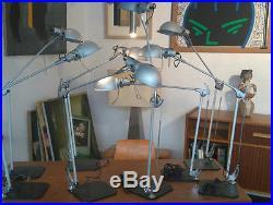 Lampe Design De Table / Bureau Artemide Aluminium Mandraki Blumer