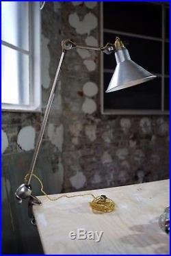 Lampe GRAS RAVEL mod 201 NICKELÉE