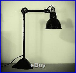 Lampe Gras 205 Lampe R. A. V. E. L. Clamart, état rare