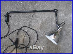 Lampe Gras Dcw Modele 203 Applique Potence Telescopique Wall Sconce Lamp