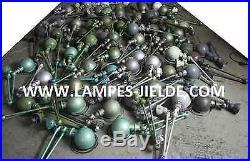 Lampe JIELDE Verte par Jean Louis Domecq 3 BRAS 40cm JLD 607 100% vintage