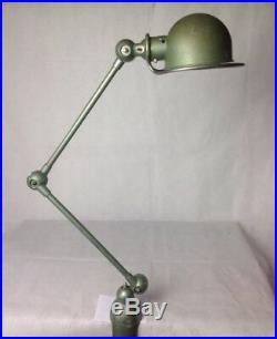 Lampe JIELDE par Jean Louis Domecq 2 BRAS JLD 82 100% vintage