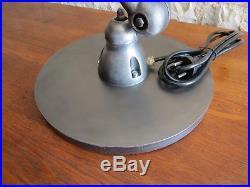 Lampe Jielde 5 Bras Brossee Style Graphite Design Loft Industriel
