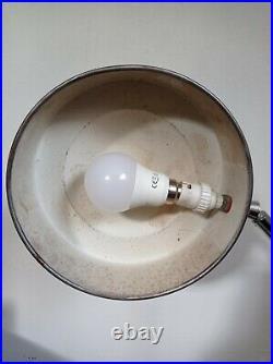 Lampe Jumo Charlotte Perriand 1960 1970 ancienne industrielle design vintage