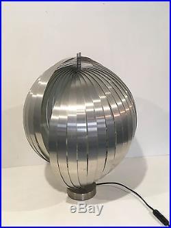 Lampe' Moon' Grand Modèle des Années 70's Henri Mathieu Vintage