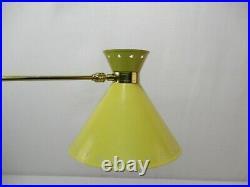 Lampe Potence Articulee Diabolo Rene Mathieu Lunel Vintage Design 1950 Lamp