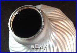 Lampe Réflecteur X-Ray Mazda cristal Argenté Miroir Art Déco Bauhaus Modernisme
