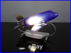 Lampe américaine avion DC3 SARSAPARILLA'S style Art Déco 70's vintage USA