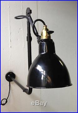 Lampe applique gras ravel 1940 1950 mid century atelier bureau