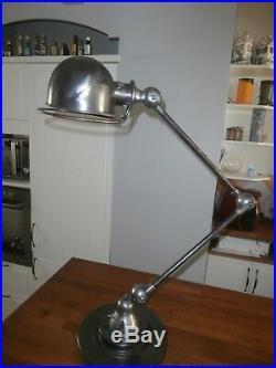 Lampe atelier jielde industrielle vintage