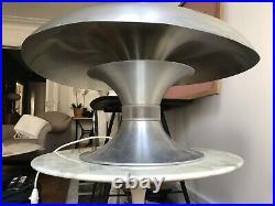 Lampe champignon vintage 1960/70 Space Age Style Harvey Guzzini Artemi
