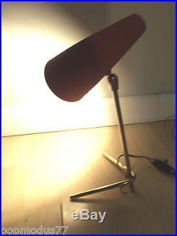 Lampe cocotte Mid century vintage design 50's style Jean Boris Lacroix