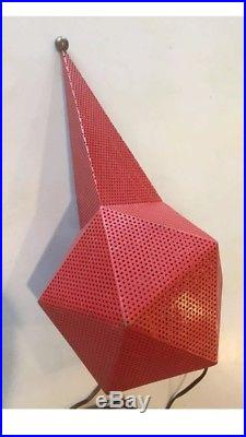 Lampe de Mathieu MATEGOT Bagdad Rouge