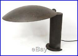 Lampe de bureau Jean-Michel Wilmotte Washington métal laqué noir design XXè