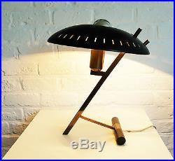 Lampe de table bureau Z LOUIS KALFF desk or table lamp PHILIPS mid-century