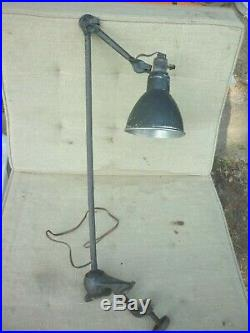 Lampe industrielle lampe d'atelier lampe gras 1930