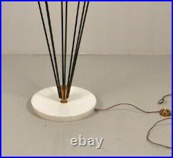 Lampe lampadaire Siluro ANGELO LELLI & ETTORE SOTTSASS Arredoluce Floor Lamp