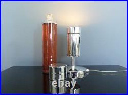 Lampe paillettes ambre CRESTWORTH COSMOS vintage 60's 70's RARE