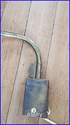 Lampe potence telescopique années 50 design vintage Lunel diabolot Guariche
