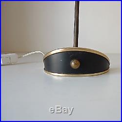 Lampe vintage années 50 60 design 1950 table lamp 50er Guariche Biny Stilnovo