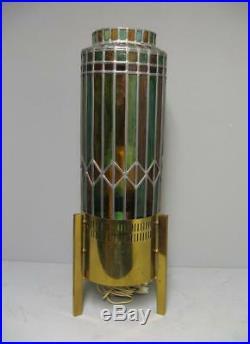 Lampe vitrail de salon Stilnovo. Design 50-60