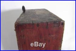 Layette d'horloger meuble de métier ancien 22 tiroirs bois outil atelier XIXeme