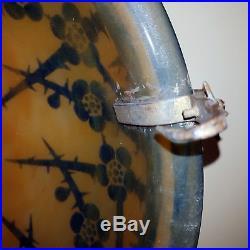 Le Verre Francais Vasque Suspension Lustre Modele Aubepines