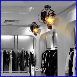 Linkax Rétro Industriel Lampe Suspension