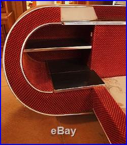 Lit chambre a coucher couchage design 1970 brocante 70' french