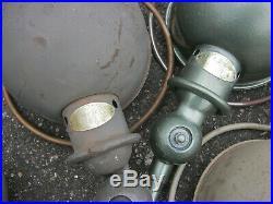 Lot jielde ancienne lampe industrielle atelier usine vintage loft