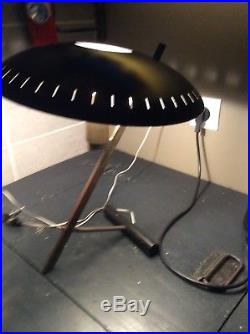 Louis Kalff Rare Lampe de Bureau Modèle Z années 50 Éditée par Philipps État TB