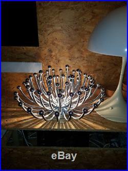 Luminaire Pistillo Studio Tetrarch Valenti estampillé era Knoll vintage loft