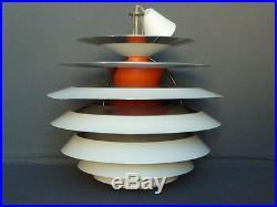 Lustre Luminaire Vintage 1958 Poul Henningsen Poulsen Lampe Design Moderniste