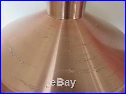 Lustre Suspension Scandinave Fog Morup Annees 60 En Aluminium Rose