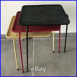 MATEGOT 3 TABLES SOUMBA DESIGN XXème