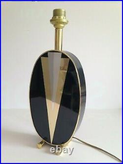 Magnifique pied de lampe vintage des Années 60's 70's
