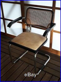Marcel BREUER Paire de chaises S 64 Chair THONET BAUHAUS