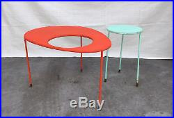 Mathieu Mategot Kangourou Table circa 1950 original ones