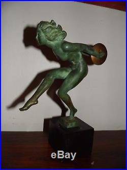 Max Le Verrier Danseuse Art Deco Garcia