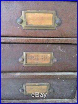 Meuble De Mercerie Meuble À 8 Tiroirs Cartier Bresson Années 40