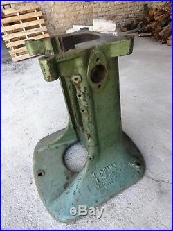 Meuble Métier Piétement Industriel Pied de Machine Fonte Massive Atelier 1930
